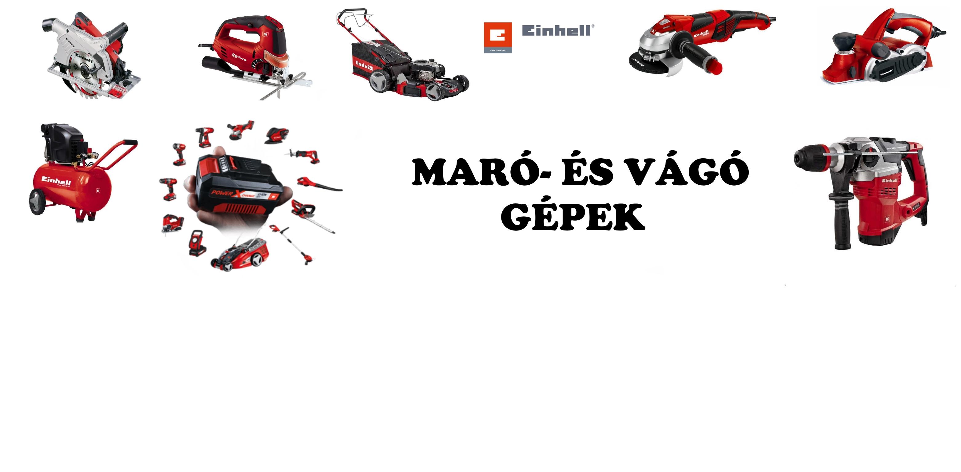 MARÓ- ÉS VÁGÓ GÉPEK