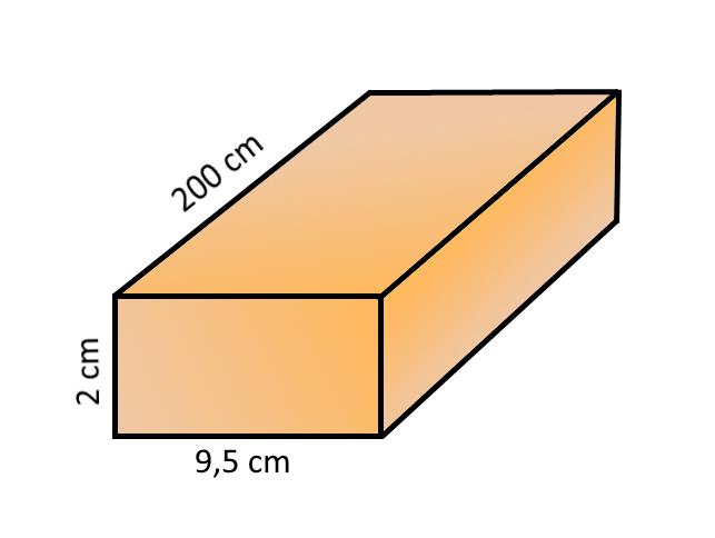 FENYŐ PROFILLÉC - NÉGYSZEGLÉC 2X9,5X200CM /141620/