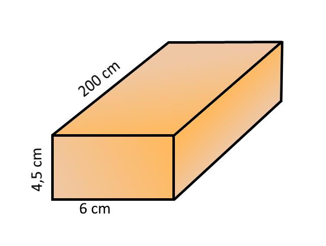 FENYŐ PROFILLÉC - NÉGYSZEGLÉC 4,5X6X200CM /163247/